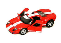 "Kinsmart 1:36 Scale 5"" 2006 Ford GT Diecast Model Toy Car New Red"
