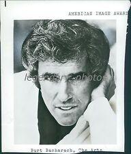 Burt Bacharach, American Image Award Winner Original Photo