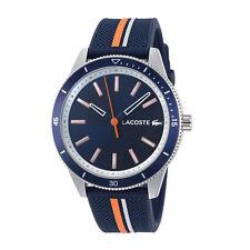 Lacoste 2011007 Key West Men's 42mm Navy Blue Dial Stainless Steel Watch