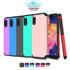 For Samsung Galaxy A10e Phone Case Shockproof Armor Hard Cover /Screen Protector