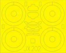 Eduard JX202 Sopwith F.1 Camel Mask for Wingnut Wings 1/32