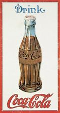 Coca Cola Drink Coca Cola metal sign  400mm x 215mm  (de)
