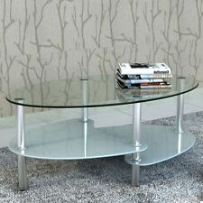 Oval Side & End Tables with Flat Pack