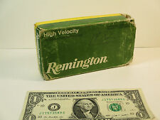Vintage Remington Empty Ammo Box, Core-Lokt 308 Winchester 180 Grain Soft Point