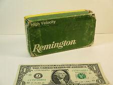 Vintage Remington Empty Ammo Box, Core-Lokt 308 Winchester 180 Grain Soft Point