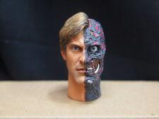 "Custom 1/6 Scale Male Headsculpt ""Two Face"" For 12"" Action Figure Body Ttm Dam"