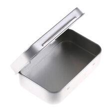 95*60*20mm Metall Zinn Flip Aufbewahrungsbox Fall Organizer Für Münze Candy CJ