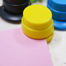 Office Home Staple Free Stapleless Stapler Paper Binding Binder Paperclip Sales