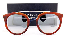 Brand New Prada Sunglasses 23SS USE 5R0 Havana/Silver Mirror Unisex