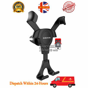 Universal Gravity in-car holder Air vent Mount stand cradle for all phones BH9