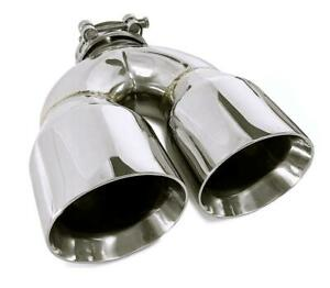 63mm Inlet 3.5 Outlet Carbon Fiber Exhaust Tip Universal Muffler Tips Dual Pipe Quad Tips 89mm 2PCS 2.5