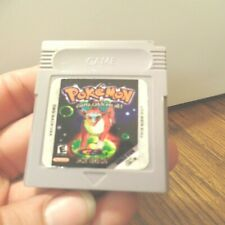 Nintendo Gameboy Color Pokemon Jade Game RARE Special edition works great!