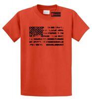 Distressed American Flag T Shirt American Pride USA Patriotic July 4th Tee S-5XL