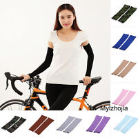FASHION Stretch Long Sleeves Cycling Golf Arm UV Protection Sun Covers (1 pair)