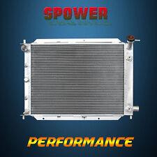 Alumimum Radiator For Ford Escort LX LX-E Mid SE Sport ZX2 Mercury Tracer 91-00