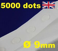5000 Glue Dots Sticky Craft Clear Card Making Scrap Removable 9mm STRONG