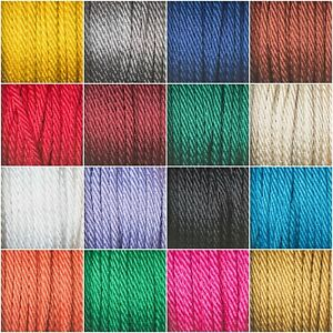 5mm Barely Twist Rope Cord By Berisfords Trimming Braid Bag Making Upholstery