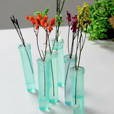 100pcs Plastic Practical Water Container Florist Flower Storing Wedding Decor SG