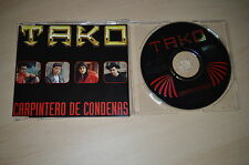 Tako - Carpintero de condenas. CD-Single PROMO (CP1704)