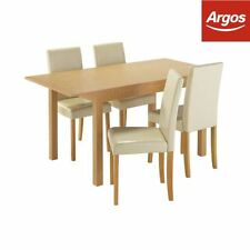 Solid Wood Up to 4 5 Table & Chair Sets with Extending
