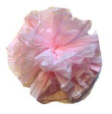 "25 Car Limo wedding Decoration Plastic Pom Poms Flower 4"" - light pink"