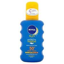 Nivea Sun Protect and Moisture Moisturising Sun Spray High SPF 50 - 200 ml