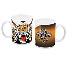98846 WEST TIGERS WESTS NRL LARGE TEAM LOGO CERAMIC COFFEE MUG IN BOX