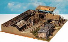 #19 FINE SCALE MINIATURES The I.M.Dunn Co. Craftsman Coal Yard Kit