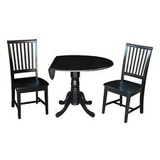 Whitewood Industries K46-42DP-C265-2 Set of 3 pcs - 42 Inch Dual Drop Leaf Table