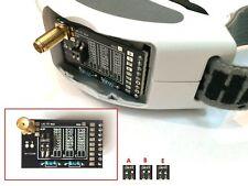 ELE 5,8GHz FS Mod RX Beta 24Ch Band A B E FatShark Dominator HD V2 V3 Emp