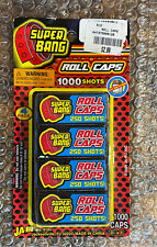 SEALED Big Bang Roll Rolled Caps Toys 1,000 Shots Total