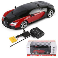 Red Super Racer Racing Car Remote Control Vehicle Model Kid Toy Christmas Gift