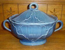 Metlox Poppytrail Vernon Soup Tureen Lotus Medium Blue