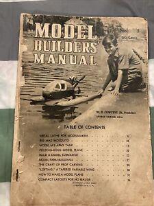 Model Builders' Manual 1942 Vintage