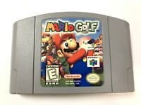 Mario Golf NINTENDO 64 N64 Game TESTED + WORKING & AUTHENTIC!