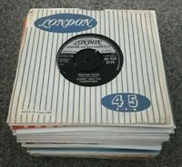 JOB LOT / COLLECTION OF 100 x 1950s & 1960s POP & ROCK SINGLES *ALL LISTED*