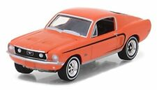 Greenlight 13190-A 968 Ford Mustang GT Madagascar Orange 1:64 Scale Diecast