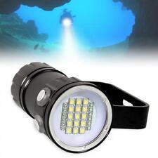 Waterproof XML2 LED Scuba Diving Light Outdoor Flashlight Underwater Torch Lamp