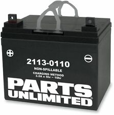 Parts Unlimited - CTX14AH-BS - AGM Maintenance-Free Battery, YTX14AH-BS