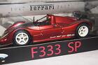 Ferrari F333 SP matt rot met. linitiert 1:18 HotWheels Elite neu & OVP L2975