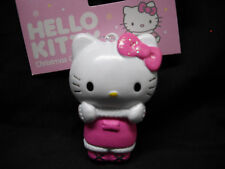 HELLO KITTY Christmas Ornament*Pink DRESS + BOW*Hang or Stand Up*Adler~FREE SHIP
