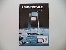 advertising Pubblicità 1970 TELEVISORE RADIOMARELLI