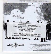 (BO485) How I Became The Bomb, Killing Machine / Secret Identity - 2007 DJ CD