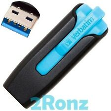 Verbatim V3 16GB 16G USB 3.0 Flash Pen Drive Disk Memory Thumb Stick Slide Blue