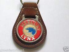 Mercury Lynx Keychain Suede Like Key Chain (#730)