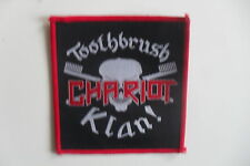Toothbrush Chariot Klan Sew On patch music