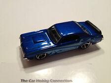 Hot Wheels HTF 1969 Blue Metallic Mercury Cougar Eliminator Diecast 1:64 - Loose