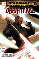 Star Wars Age of Republic Darth Maul #1 Main Cover STOCK PHOTO Marvel Comic 2018