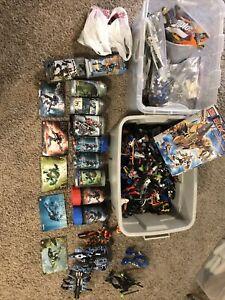 LEGO HUGE LOT! Bionicle, Hero Factory, Knights Kingdoms, Power Functions-Technic