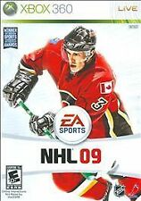 NHL 09 (Microsoft Xbox 360, 2008) DISC IS MINT